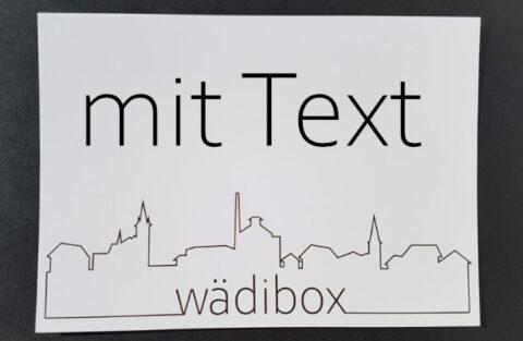 Mit Text